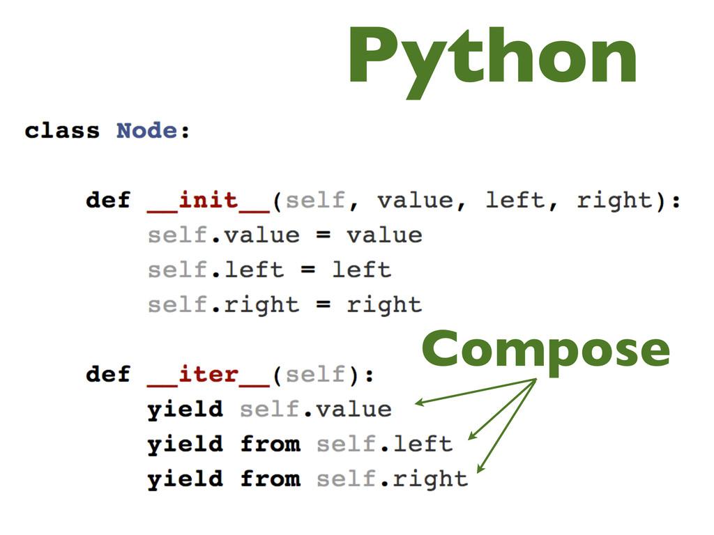 Compose Python