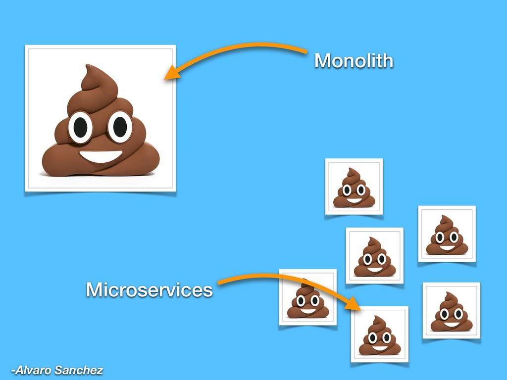 Monolith Microservices -Alvaro Sanchez