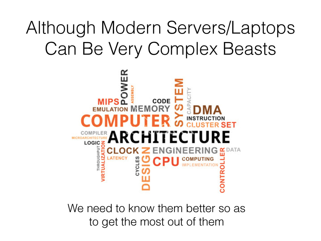 Although Modern Servers/Laptops Can Be Very Com...