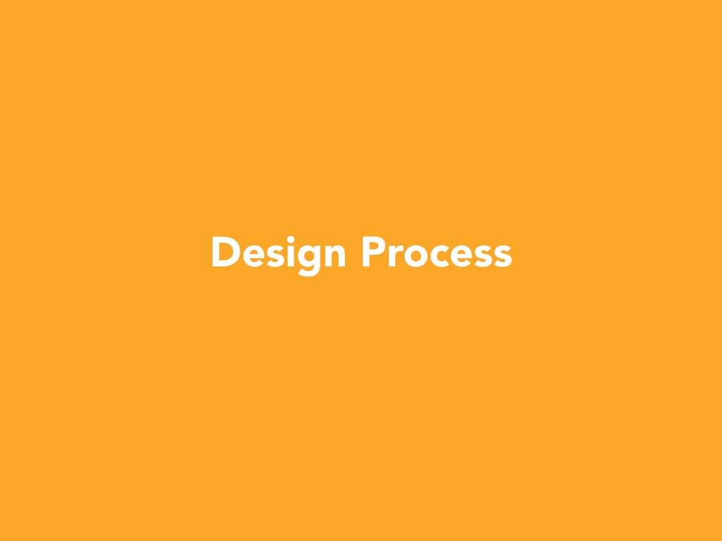 W Design Process