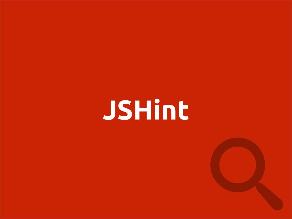 JSHint