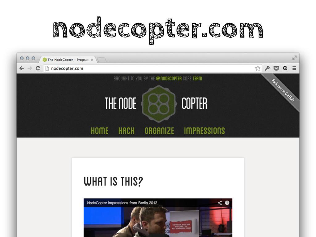 nodecopter.com