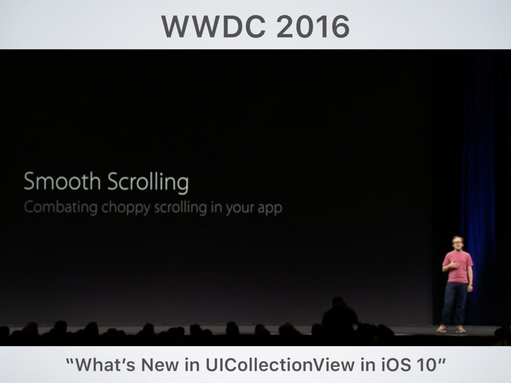 """WWDC 2016 """"What's New in UICollectionView in iO..."""