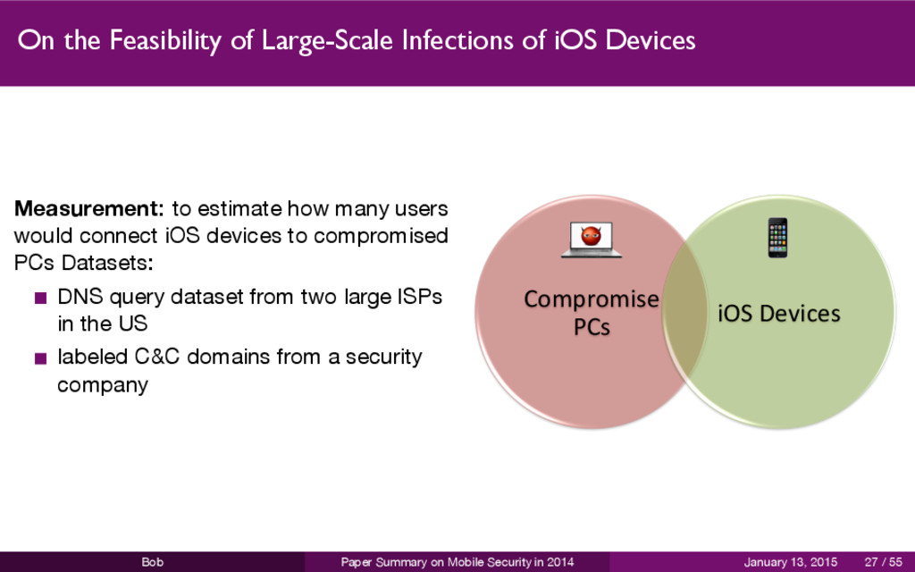 On the Feasibility of Large-Scale Infections of...