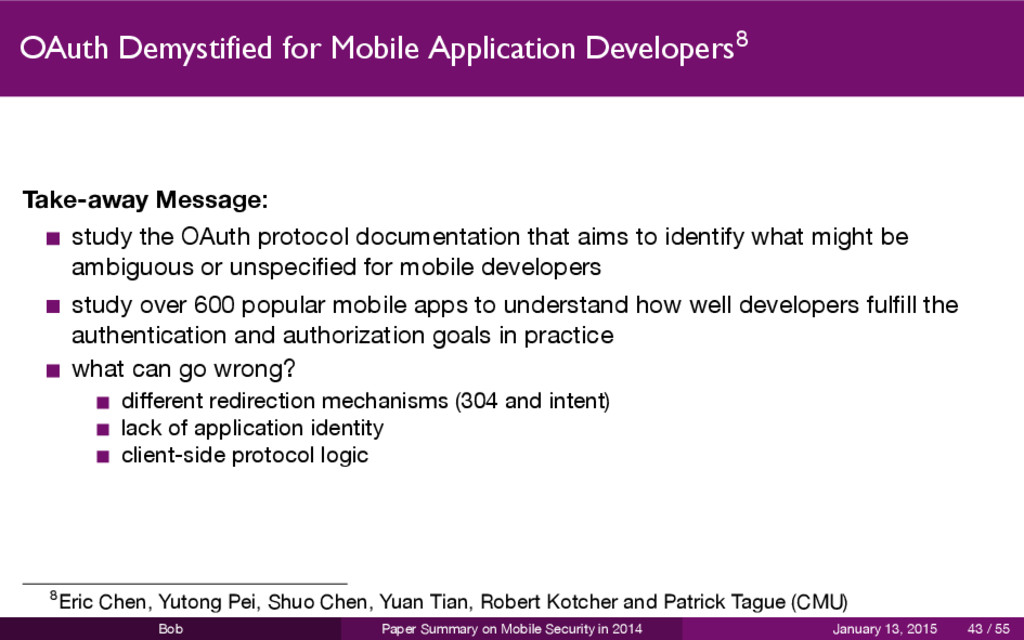 OAuth Demystified for Mobile Application Develo...