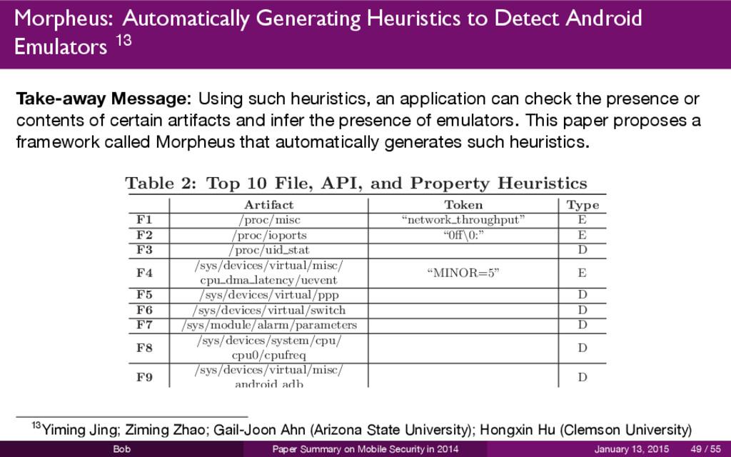Morpheus: Automatically Generating Heuristics t...