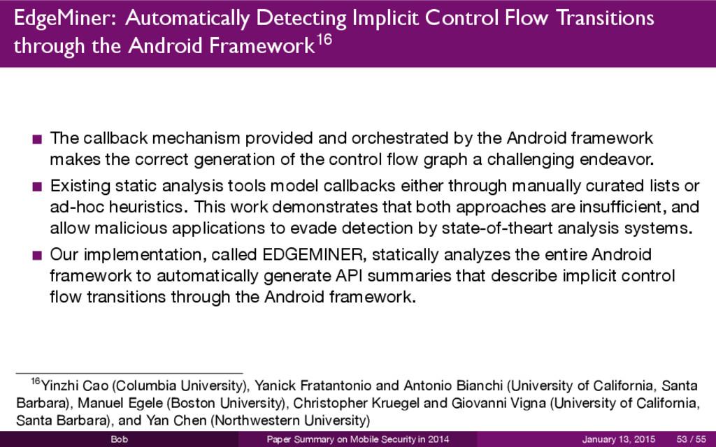 EdgeMiner: Automatically Detecting Implicit Con...