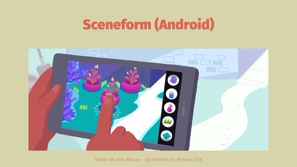 Sceneform (Android) Moble AR with ARCore - @Eri...