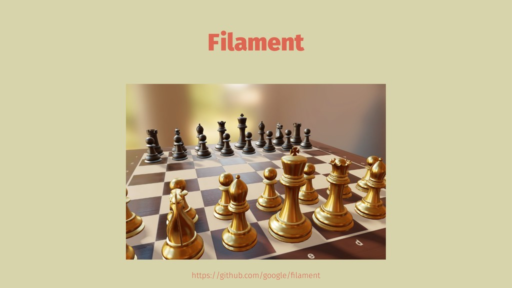 Filament https://github.com/google/filament