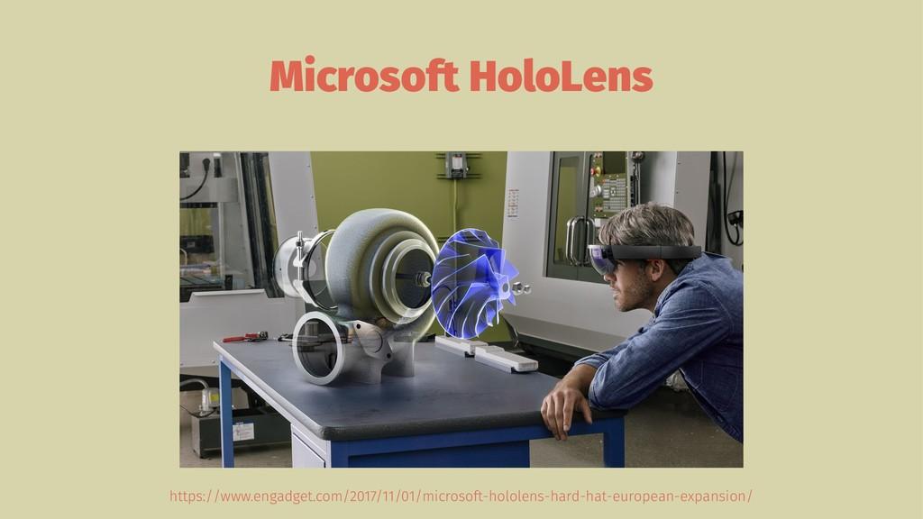 Microsoft HoloLens https://www.engadget.com/201...