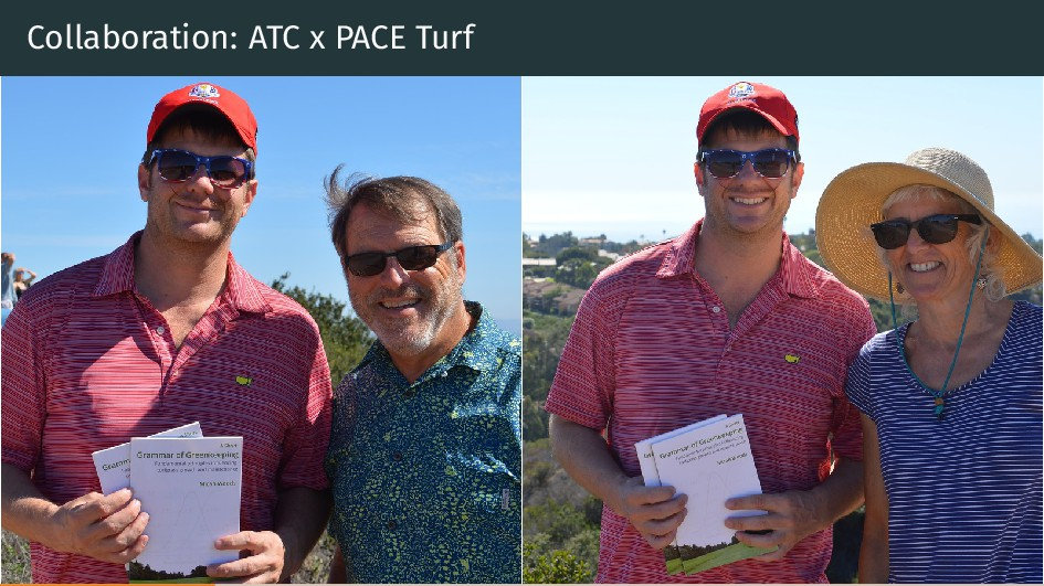 Collaboration: ATC x PACE Turf