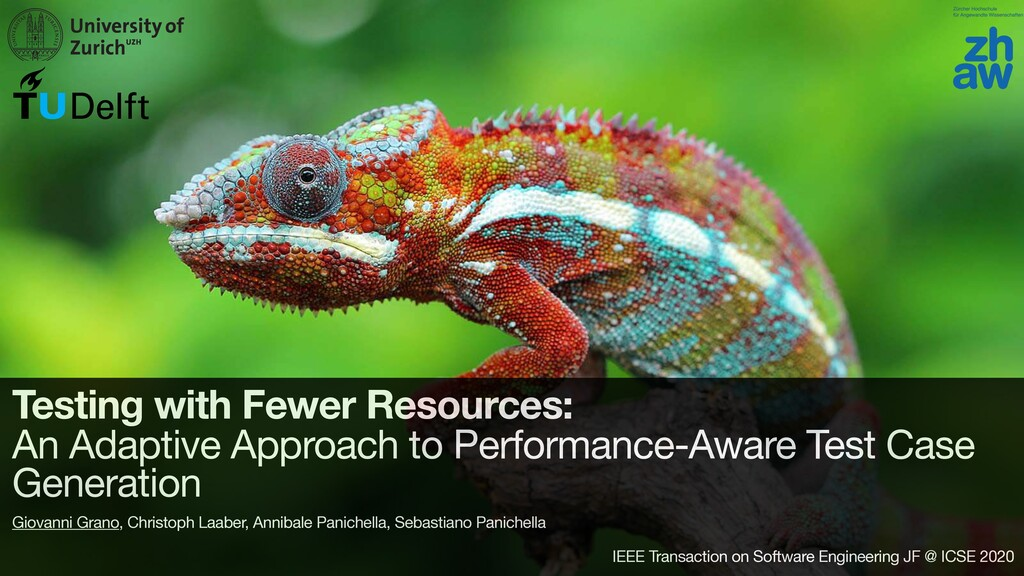 Testing with Fewer Resources: An Adaptive Appro...