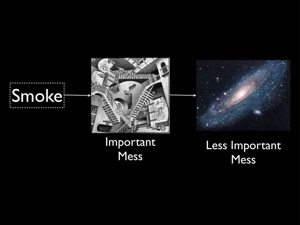Smoke Important Mess Less Important Mess