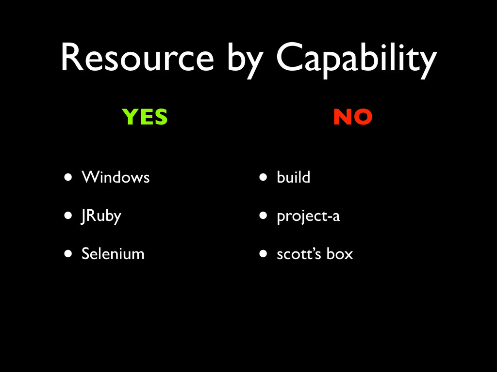 Resource by Capability • Windows • JRuby • Sele...