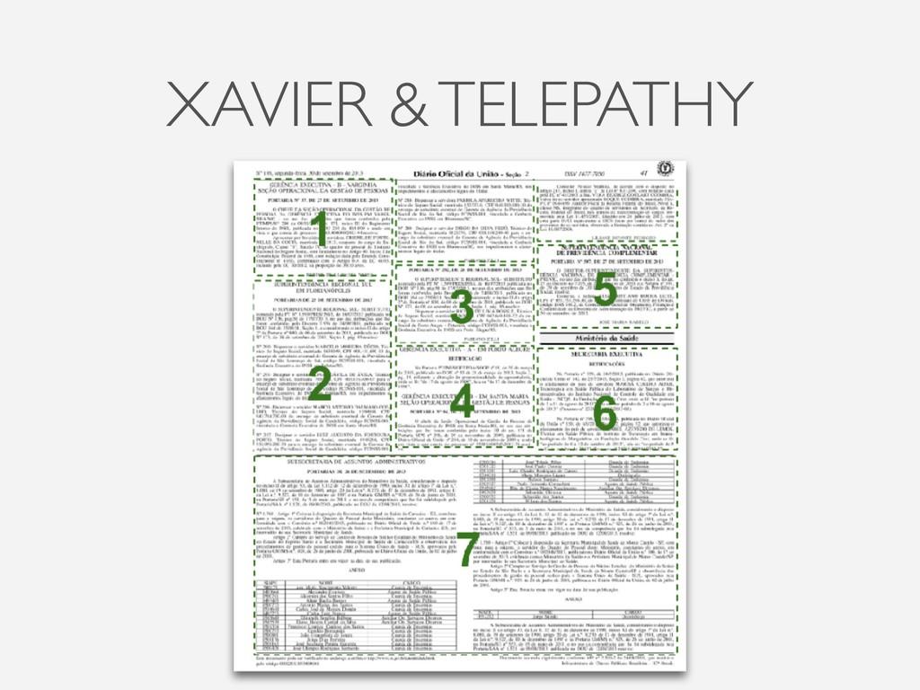 XAVIER & TELEPATHY