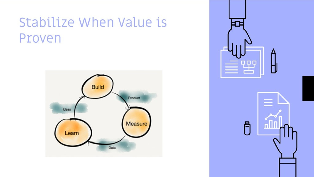 Stabilize When Value is Proven