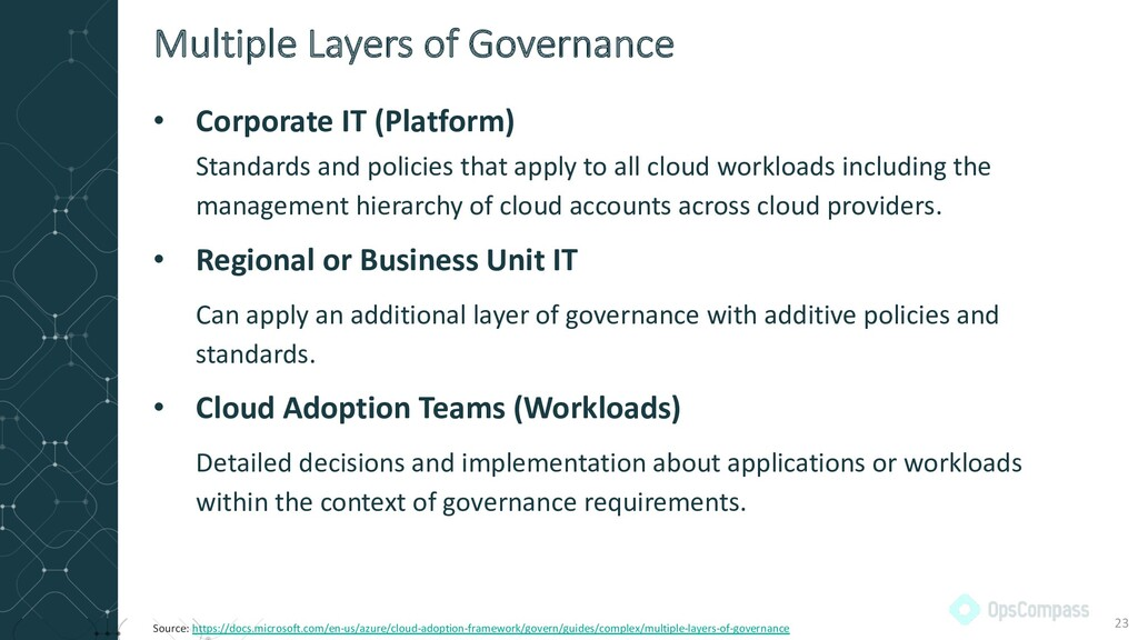 • Corporate IT (Platform) Standards and policie...
