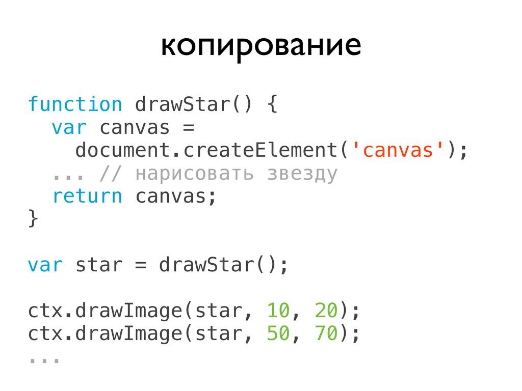 function drawStar() { var canvas = document.cre...