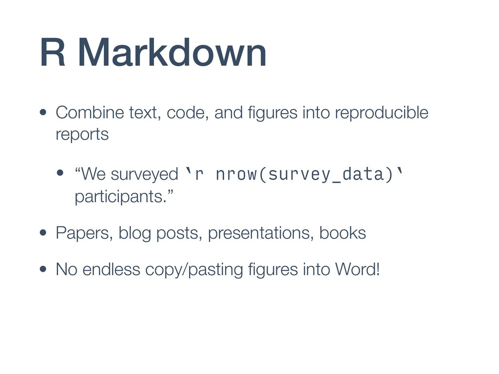 R Markdown • Combine text, code, and figures int...