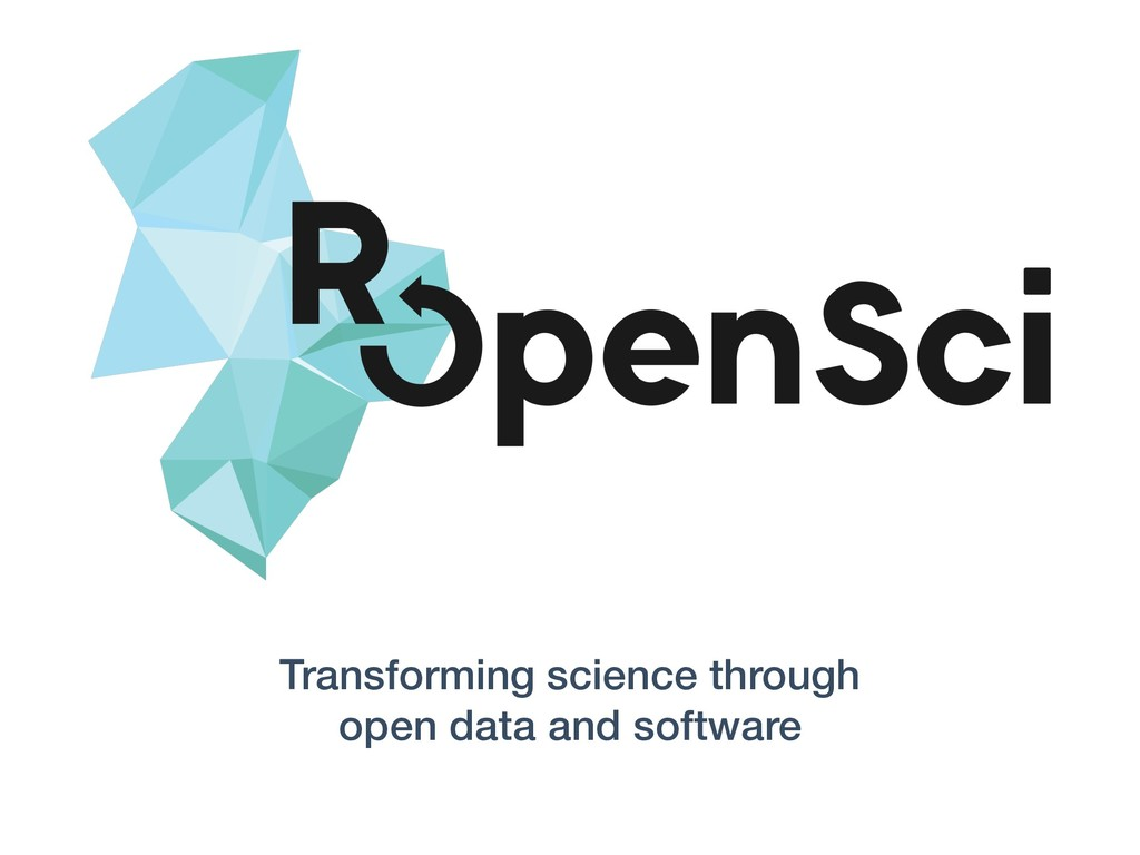 Transforming science through open data and soft...