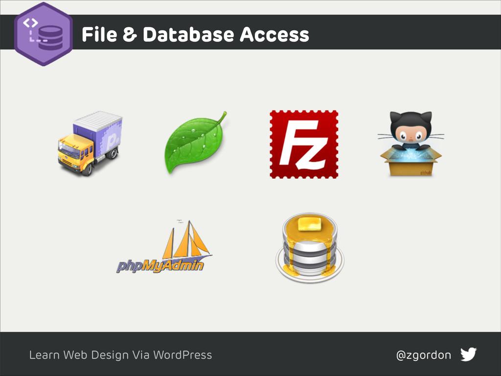 Learn Web Design Via WordPress @zgordon File & ...
