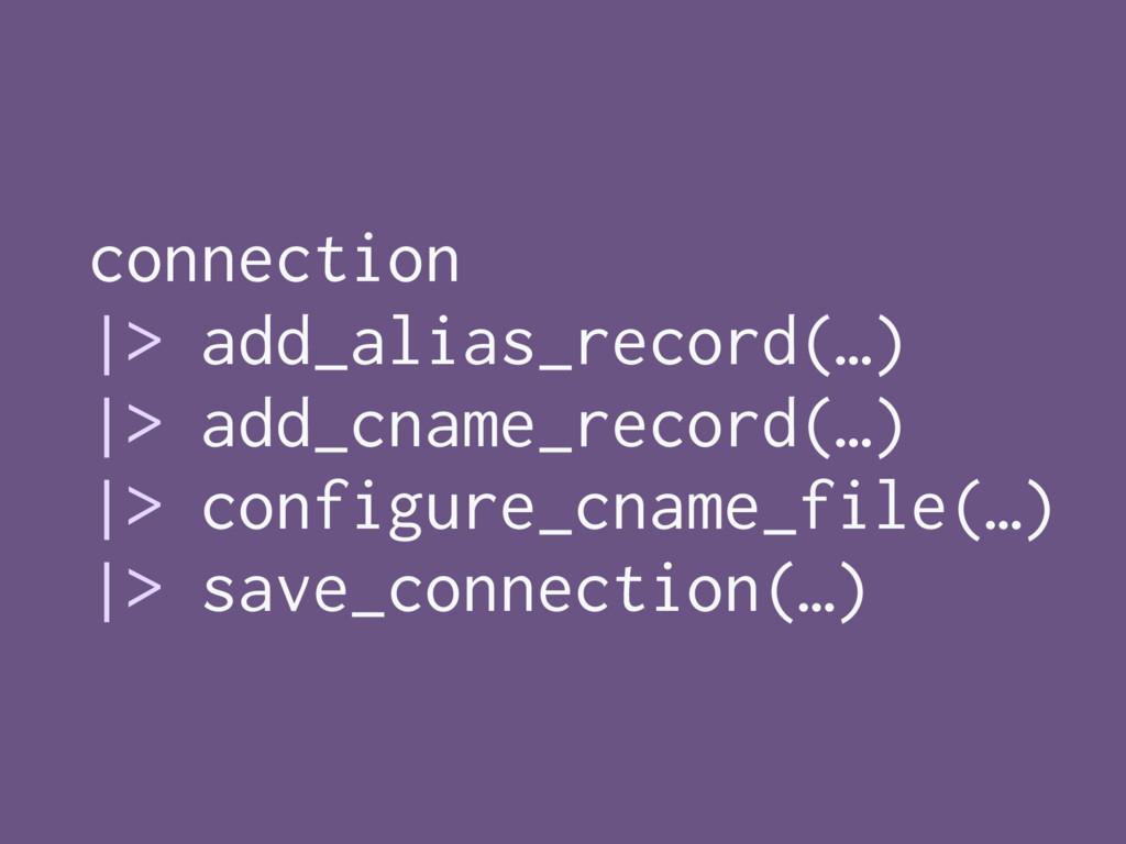 connection  > add_alias_record(…)  > add_cname_...