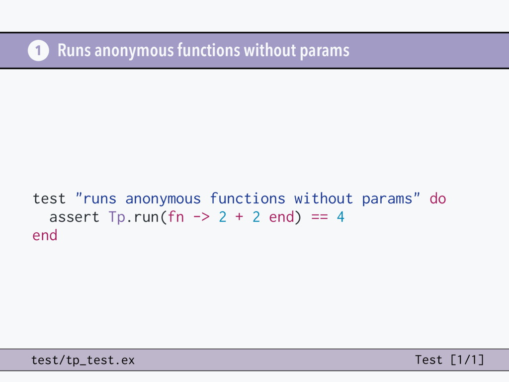 "test ""runs anonymous functions without params"" ..."