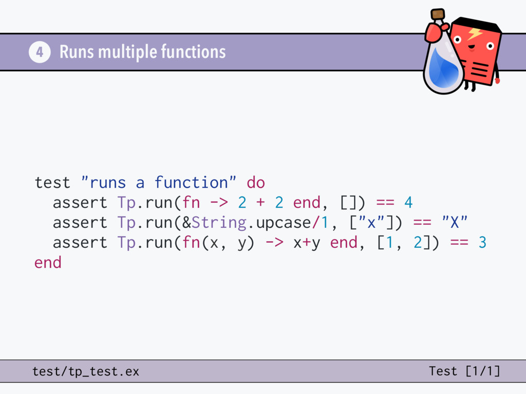 Runs multiple functions 4 test/tp_test.ex Test ...