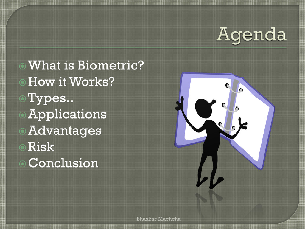 What is Biometric? How it Works? Types.. Ap...