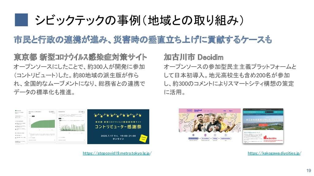 東京都 新型コロナウイルス感染症対策サイト オープンソースにしたことで、約300人が開発に参...