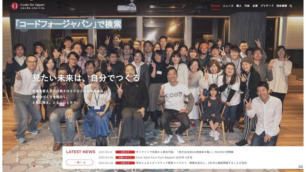 44 「コードフォージャパン」で検索