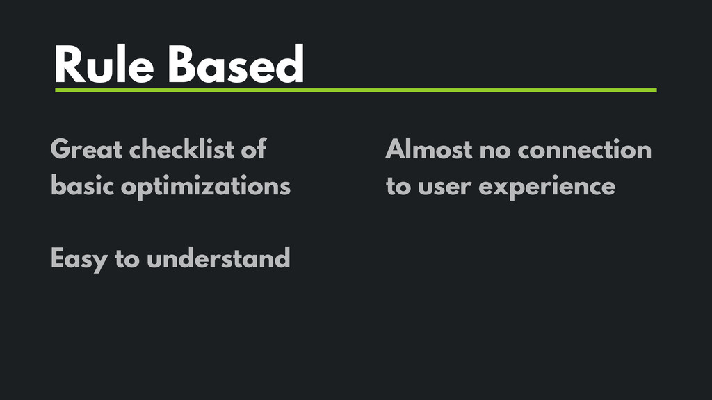 Great checklist of basic optimizations Easy to ...