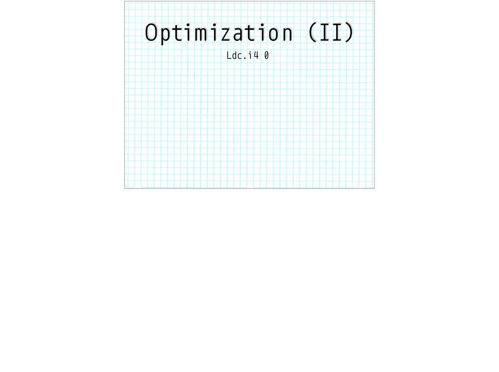 Optimization (II) Ldc.i4 0