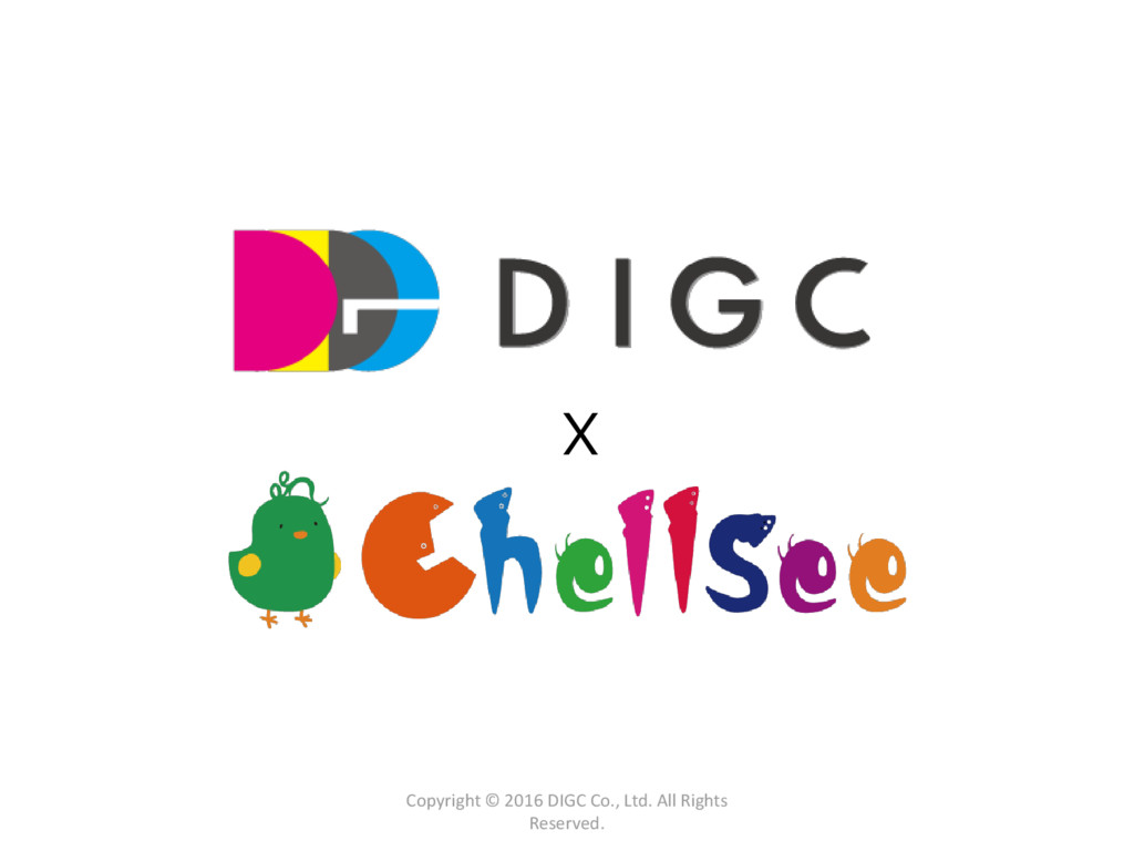 X Copyright © 2016 DIGC Co., Ltd. All Rights Re...
