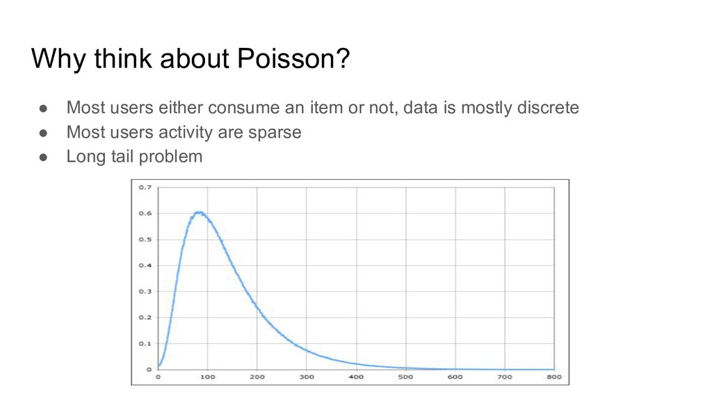 Why think about Poisson? ● Most users either co...