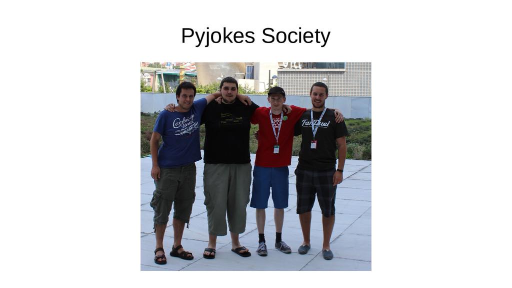 Pyjokes Society