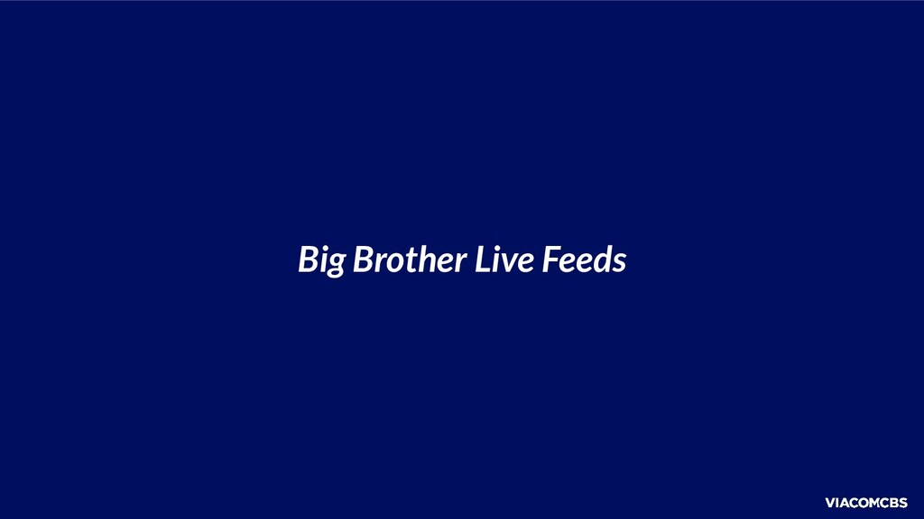 Big Brother Live Feeds
