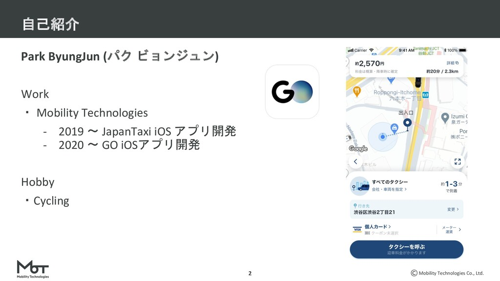Mobility Technologies Co., Ltd. Park ByungJun (...