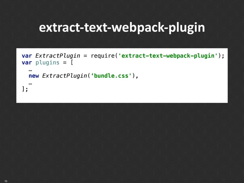 70 extract-text-webpack-plugin var ExtractPlugi...