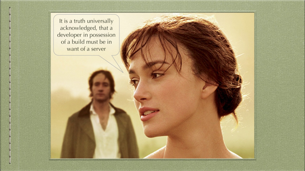It is a truth universally acknowledged, that a ...