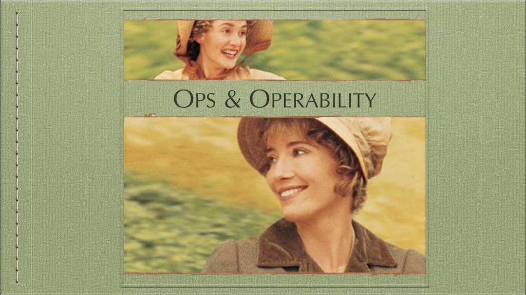 OPS & OPERABILITY
