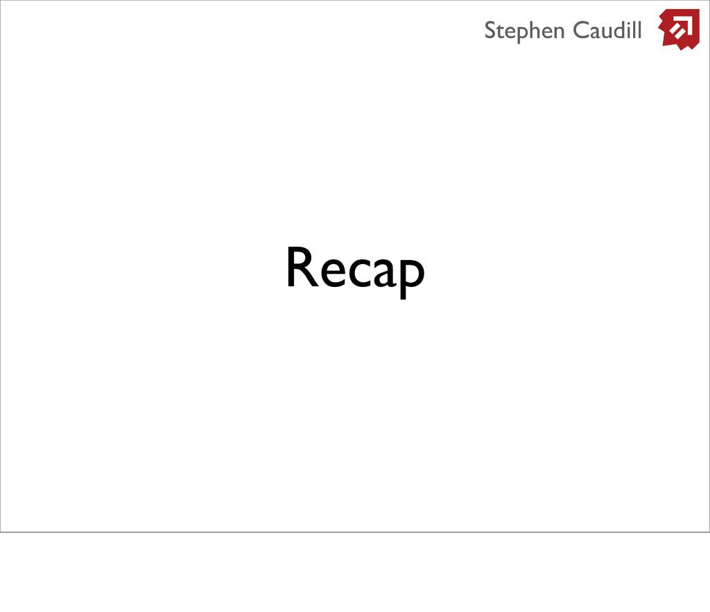 Recap Stephen Caudill