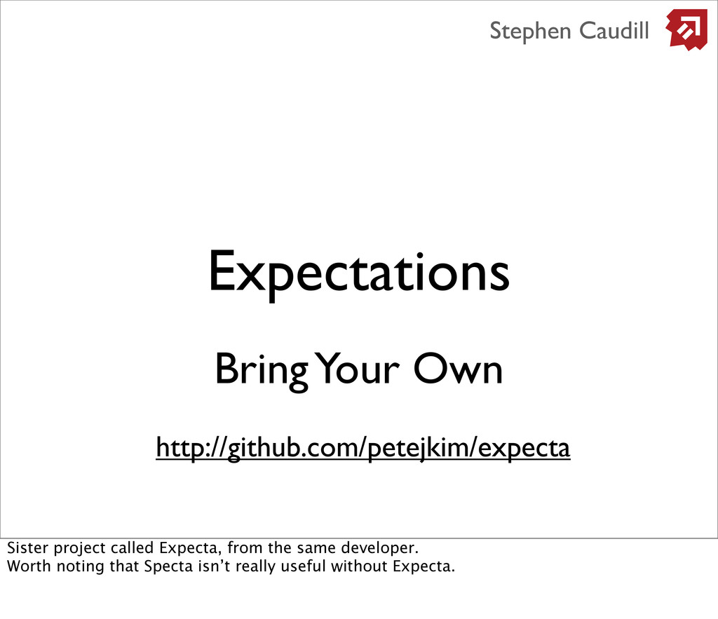 Expectations Stephen Caudill Bring Your Own htt...