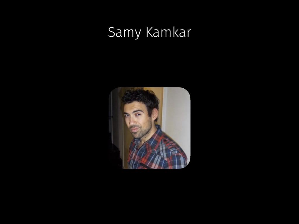 Samy Kamkar
