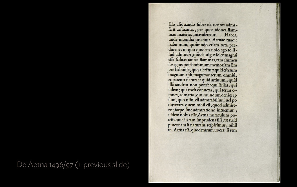 De Aetna 1496/97 (+ previous slide)