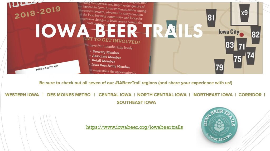Iowa Beer Trails Attraction Strategies https://...