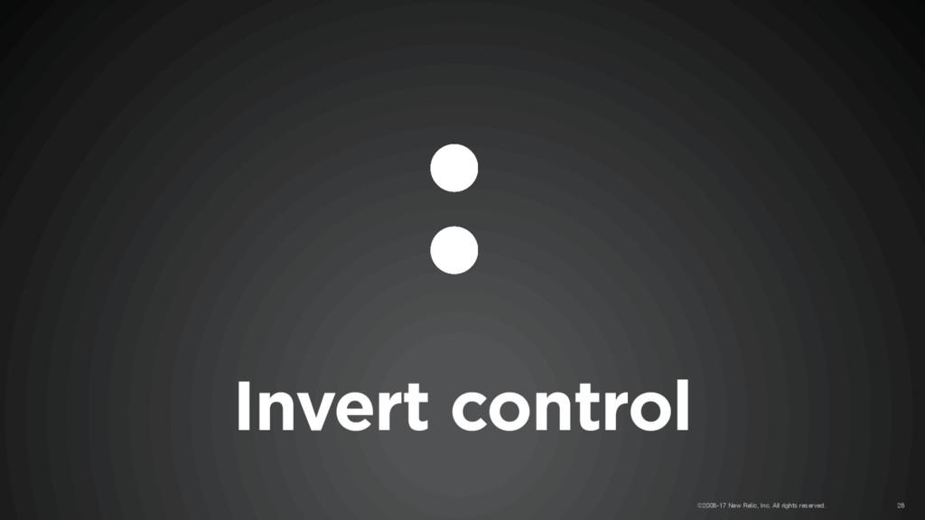 Invert control ©2008-17 New Relic, Inc. All rig...