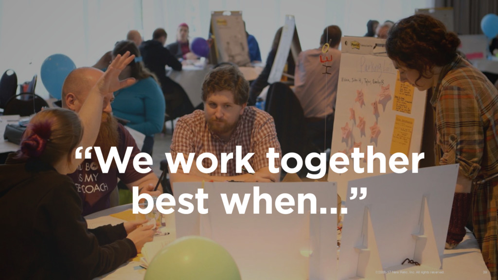 """We work together best when…"" ©2008-17 New Reli..."