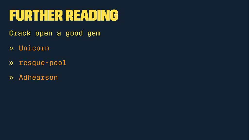 Further Reading Crack open a good gem » Unicorn...