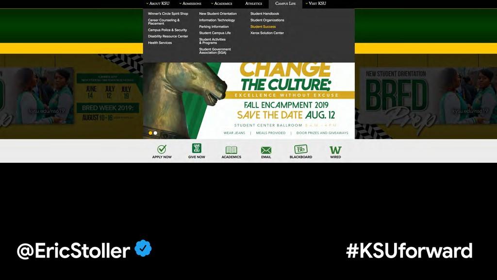 @EricStoller #KSUforward